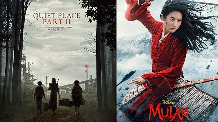 8 Film Bioskop Hollywood Tayang Maret 2020: 'A Quite Place Part II', 'Guns Akimbo' hingga 'Mulan'