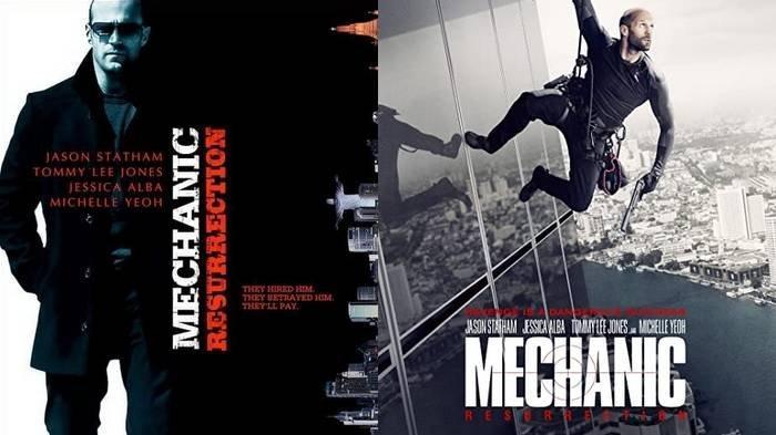 Sinopsis Film Mechanic: Resurrection, Tonton Aksi Jason Statham dan Jessica Alba, Tayang di Trans TV