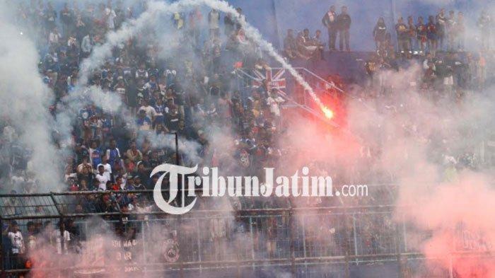 Tambah Denda Rp 200 Juta Gara-Gara Ulah Aremania, Denda Arema FC Capai Lebih Dari Rp 1 Miliar