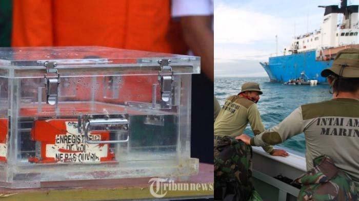 Serpihan Oranye Penuhi Laut? Kondisi Asli Lokasi Jatuhnya SJ 182 Dikuak, Bagian CVR Pecah Berantakan