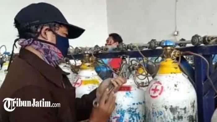 Kapolres Kediri Minta Masyarakat Tidak Panik Borong Tabung Oksigen, 'Utamakan yang Membutuhkan'