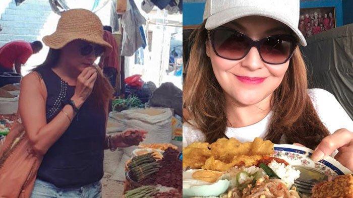 Tamara Bleszynski Saat Belanja di Pasar Tradisional dan Makan di Warteg