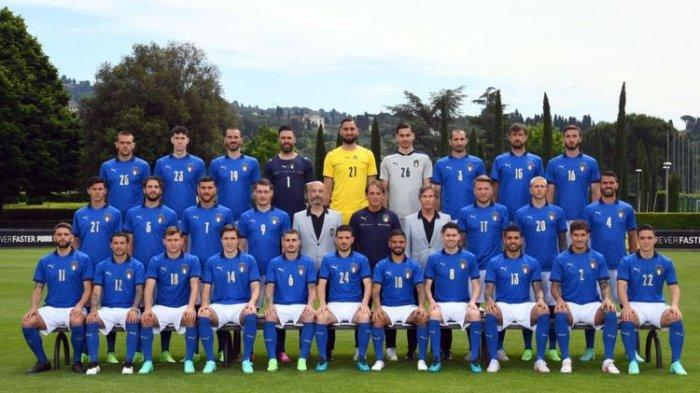 Profil Timnas Italia di Euro 2020 - Momentum Terbaik Akhiri Puasa Gelar Setengah Abad