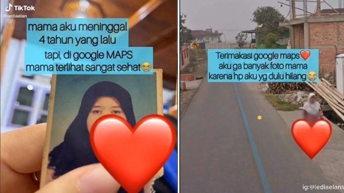 VIRAL Video Haru Curhat Anak Lihat Sosok Ibunya Muncul di Google Maps, Meninggal 4 Tahun Lalu: Kaget