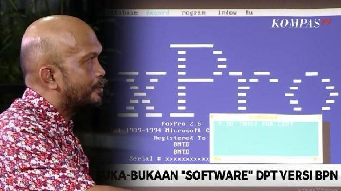FoxPro yang Diluncurkan Tahun 1984 Dipakai Idham Amiruddin Saksi BPN Tunjukkan NIK Siluman