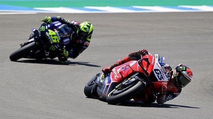 Hasil FP3 MotoGP Austria 2021 - Murid Valentino Rossi Tercepat, The Doctor Gagal Lolos Kualifikasi 2