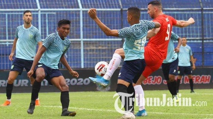 Hasil Persela Vs Sabah FA, Berbagi Angka dengan Sabah FA 2-2, Persela Jadi Juru Kunci Grup B