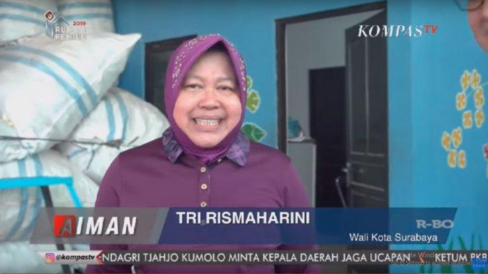 Tri Rismaharini Jawab Isu Calon Menteri & Capres 2024:Terus Terang Ambisi Aja Nggak Apalagi Bermimpi