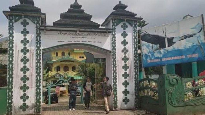 Gapura Kerajaan Angling Dharma yang menghebohkan masyarakat Pandeglang, Banten.