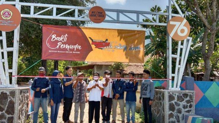 Hanya Bermodal Kreativitas, Karang Taruna di Probolinggo Ini Aktif Membangun Desa