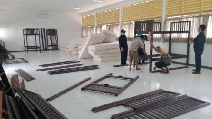 Antisipasi Lonjakan Kasus Covid-19, Bupati Banyuwangi Tambah Bed di Tempat Isolasi Terpusat
