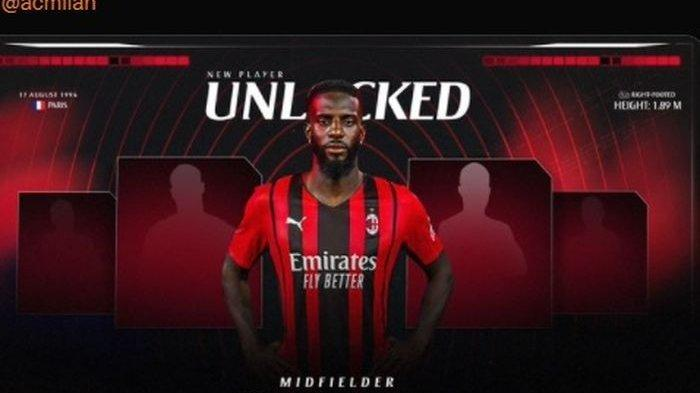 Resmi, AC Milan Kembali Dapatkan Tiemoue Bakayoko dengan Status Pinjaman