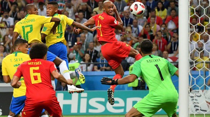 Fernandinho Dapat Ancaman Pembunuhan usai Cetak Gol Bunuh Diri saat Perempat Final Piala Dunia 2018