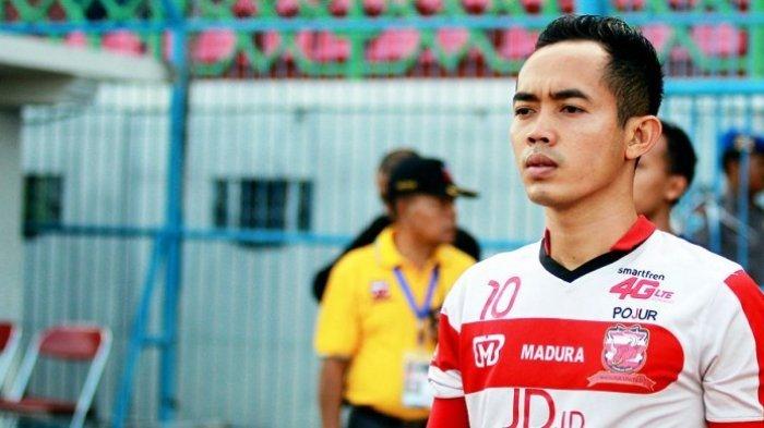 Madura United Raih Kemenangan Perdana, Slamet Nurcahyo: Ini Untuk Warga Madura