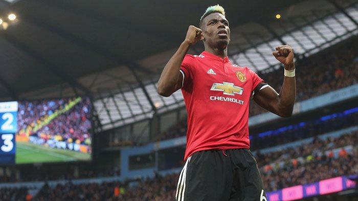 Paul Pogba Antar Manchester United Kudeta Liverpool dari Puncak Klasemen Liga Inggris: Sepakan Voli