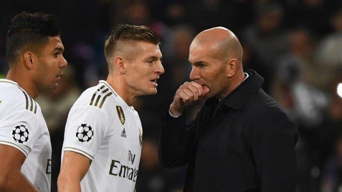 Gagal Juara Liga Sapnyol dan Nirgelar, Madrid Alami Musim Terburuk dalam 11 Tahun, Ini Kata Zidane