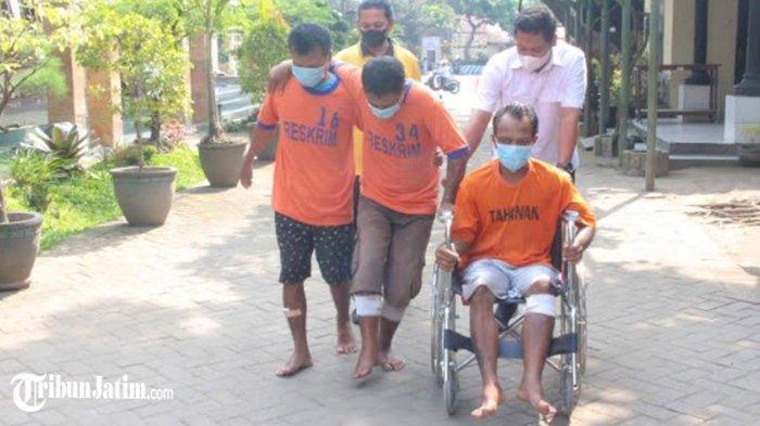 Gondol 16 Motor Dalam 3 Bulan, Spesialis Curanmor di Sawah Lintas Keresidenan Kediri Dibekuk Polisi