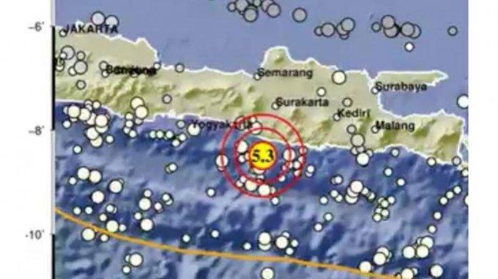 Gempa Gunung Kidul Terasa Hingga Trenggalek, BPBD: Tidak Ada Laporan Kerusakan