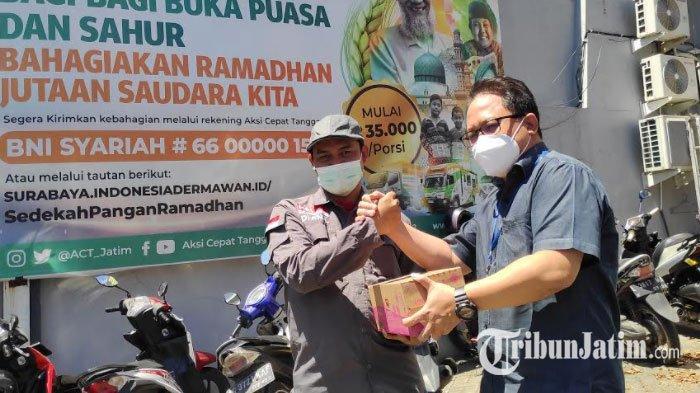 ACT Surabaya Salurkan Bantuan Donasi Ratusan Susu UHT Untuk Jaga Imunitas Korban Bencana Gempa