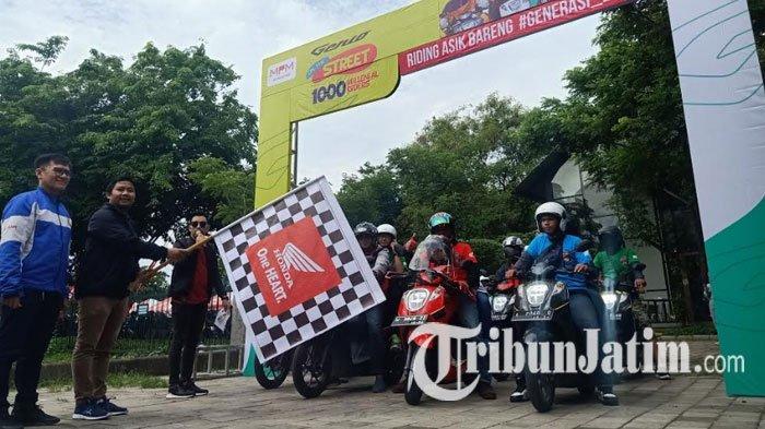 1000 Riders Milenial Ramaikan 'Genio On The Street' Surabaya, Ajang Silaturahmi Pengendara Honda
