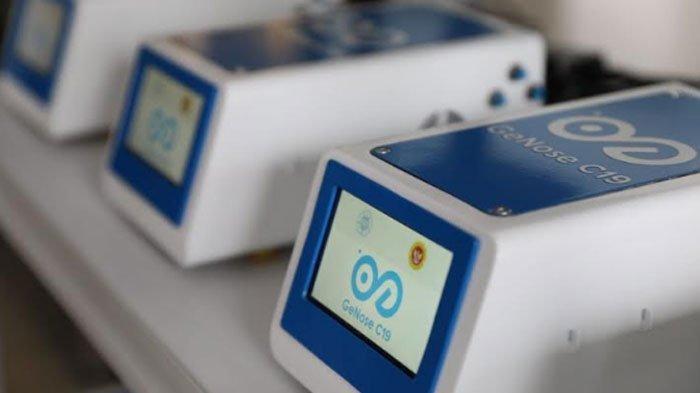 GeNose C19, alat pendeteksi virus Corona buatan Universitas Gadjah Mada (UGM).