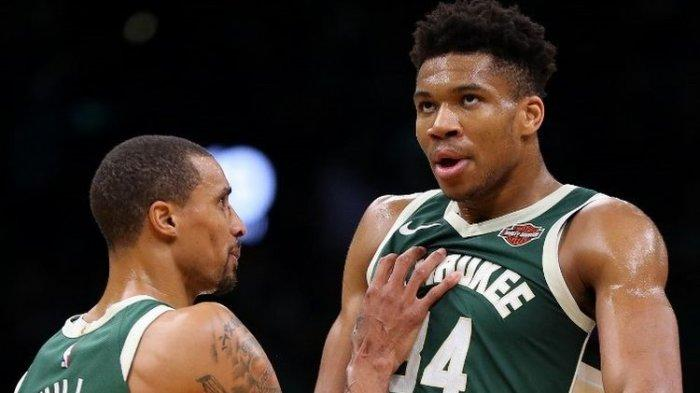 Hasil Final NBA - Antetokounmpo Catat Rekor, Milwaukee Bucks Taklukkan Phoenix Suns di Gim Ketiga