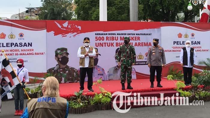 Menuju Malang Raya Bermasker, Kapolri Apresiasi Penurunan Level PPKM di Jawa Timur