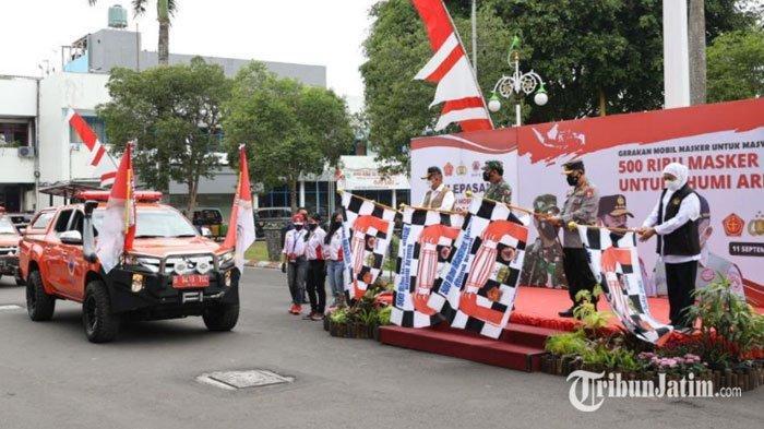 Gerakan Mobil Masker, Bagikan 500 Ribu Masker untuk Warga Malang Raya