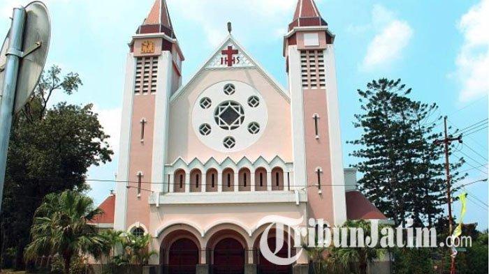 Gereja Katolik Keuskupan Surabaya Siap New Normal Jadwal Misa Harian Di Paroki Bisa Dihadiri Jemaat Tribun Jatim