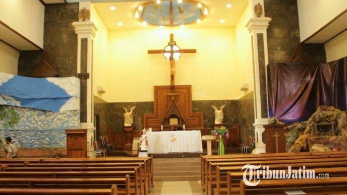 Berikan Kenyamanan Umat Nasrani, Polres Ponorogo Tingkatkan Pengamanan Pelaksanaan Ibadah Paskah
