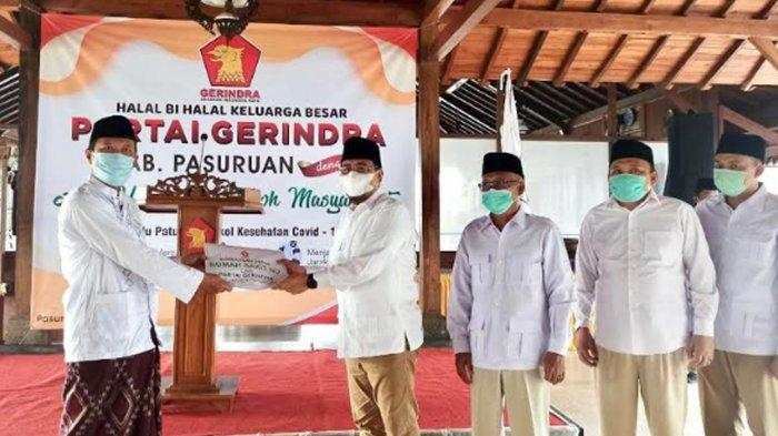 Dukung Rencana Pembangunan Rumah Sakit NU di Kabupaten Pasuruan, Partai Gerindra Sumbang Rp 50 Juta