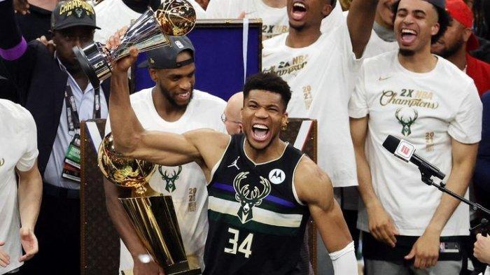Profil Giannis Antetokounmpo, Dulu Penjual Aksesories Kini Menjadi MVP Final NBA 2021