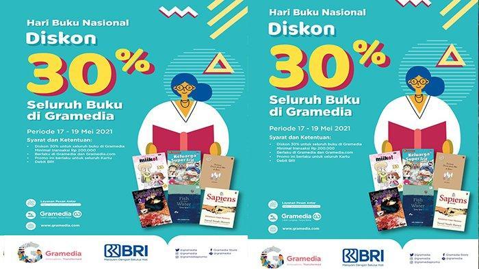 Hari Buku Nasional, Gramedia Berikan Diskon hingga 30 Persen