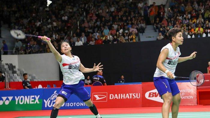Jadwal Semifinal Spain Masters 2020, Greysia/Apriyani Jadi Satu-satunya Wakil Indonesia Tersisa