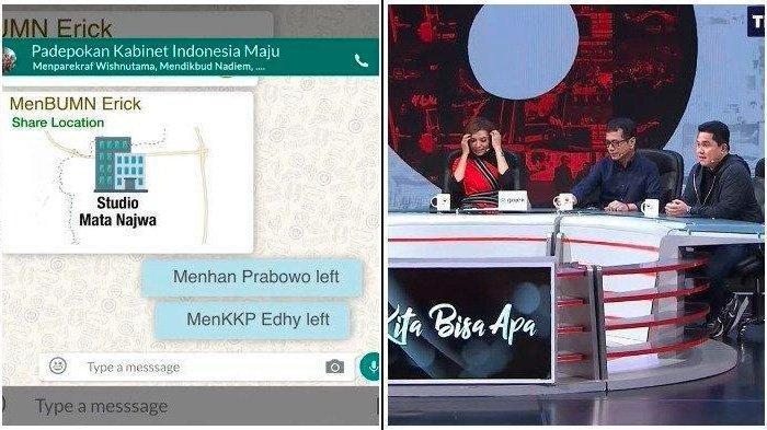 Kesal Sama Erick Thohir, Prabowo Tinggalkan Grup WA Menteri Jokowi yang 'Bocor': Disemprit Mahfud MD