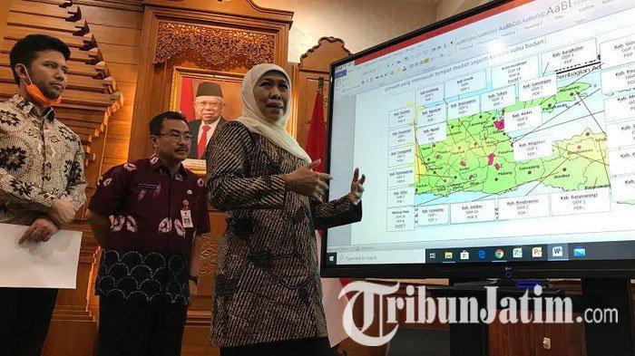 Zona Merah, Khofifah Minta Surabaya dan Malang Ganti Salat Jumat dengan Salat Zuhur di Rumah