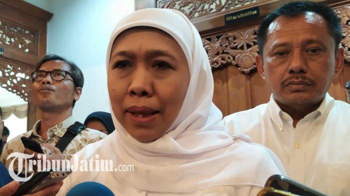 Bupati Sidoarjo Kena OTT KPK, Khofifah Akan Kumpulkan Kepala Daerah hingga Pejabat Eselon 3 se Jatim