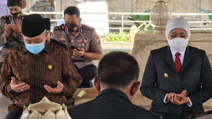 Gubernur Khofifah Minta Daerah Lain di Jatim Bisa Ikuti Jejak Kota Blitar Laksanakan PPKM Level 1