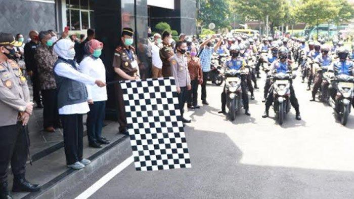 6.070 Sembako untuk Pelaku Usaha Pariwisata Jatim Terdampak Corona Meluncur Diantar Bhabinkamtibmas
