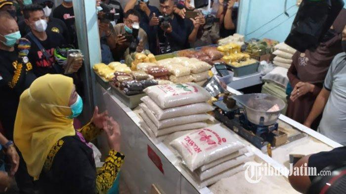 Jelang Ramadhan, Gubernur Jatim Khofifah Pastikan Stok Sembako Aman: Beras Malah Over Suplai