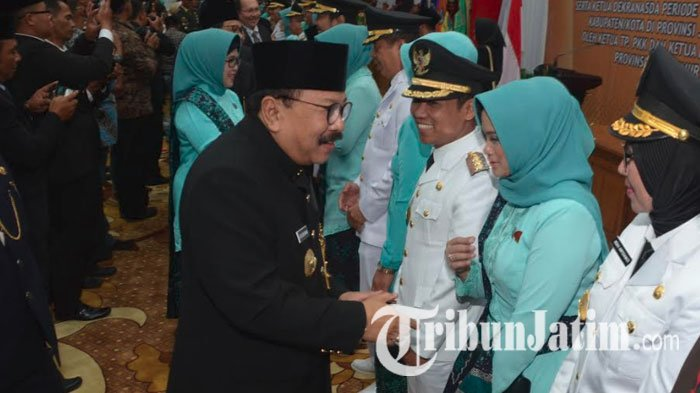 Pakde Karwo Tantang Kepala Daerah yang Baru untuk Perangi Kemiskinan dan Singgung Integritas