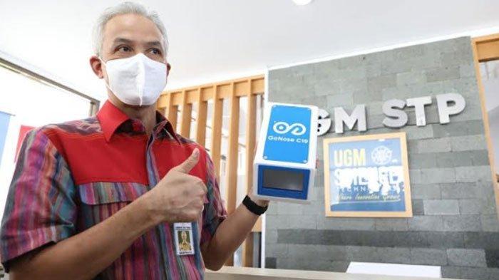 Gubernur Jateng Siap Dukung 'GeNose C19' UGM, Bisa Deteksi Covid-19 dengan Hembusan Napas 3 Menit