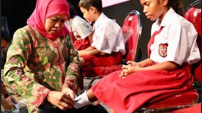 Gubernur Khofifah Minta Anak Jatim Semangat Raih Cita-cita di Masa Pandemi: Orang Tua Jangan Acuh