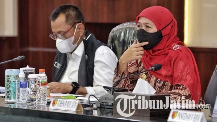 Gubernur Jatim Ingatkan Keterisian Bed Rumah Sakit Rujukan Covid-19, Ada yang di Atas 80 Persen