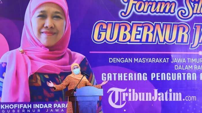 Gubernur Khofifah Kembali Imbau Perantau Asal Jawa Timur untuk Tak Mudik Lebaran 2021