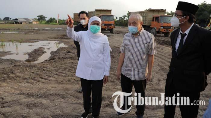 Gubernur Jatim Khofifah Ajak Gus Muhdlor Tinjau Progres Kawasan Industri Halal di Sidoarjo