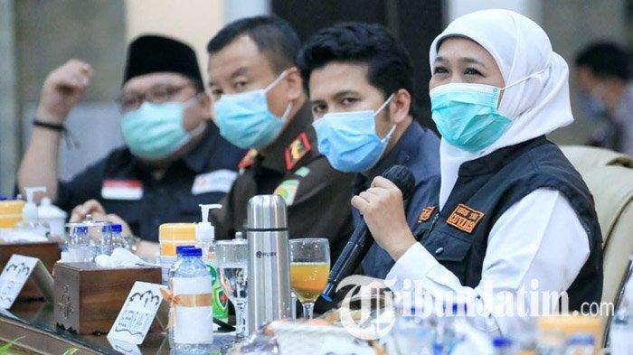 Gubernur Jatim Khofifah Minta Puskesmas Fasilitasi Saksi di TPS untuk Rapid Test Covid-19