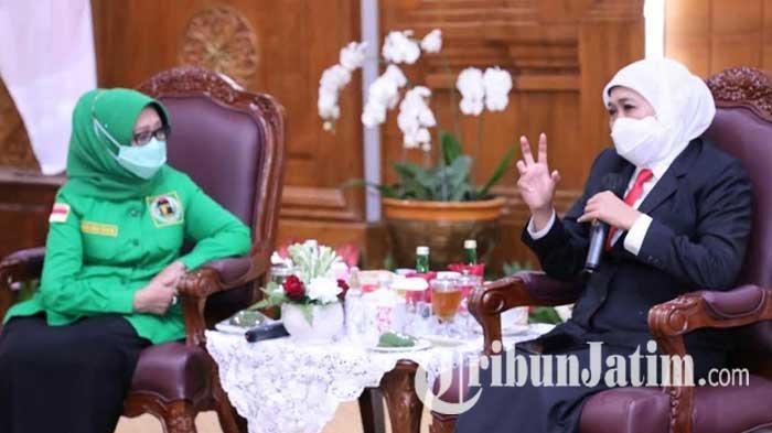 PPP Jatim Silaturahmi ke Gubernur Khofifah, Bersiap Kolaborasi dan Sinergi Dukung Program Pemprov