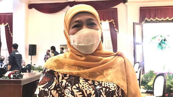 Hari Batik Nasional 2021, Khofifah Ajak Masyarakat Beli Batik Jatim: Jangan Hanya Ramai di Medsos