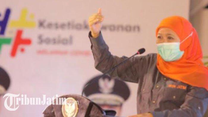 Gubernur Khofifah Ajak 'Donor Plasma Konvalesen', Signifikan untuk Selamatkan Nyawa Pasien Covid-19